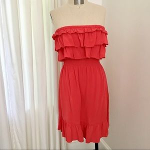 Rebecca Taylor Strapless Dress 6